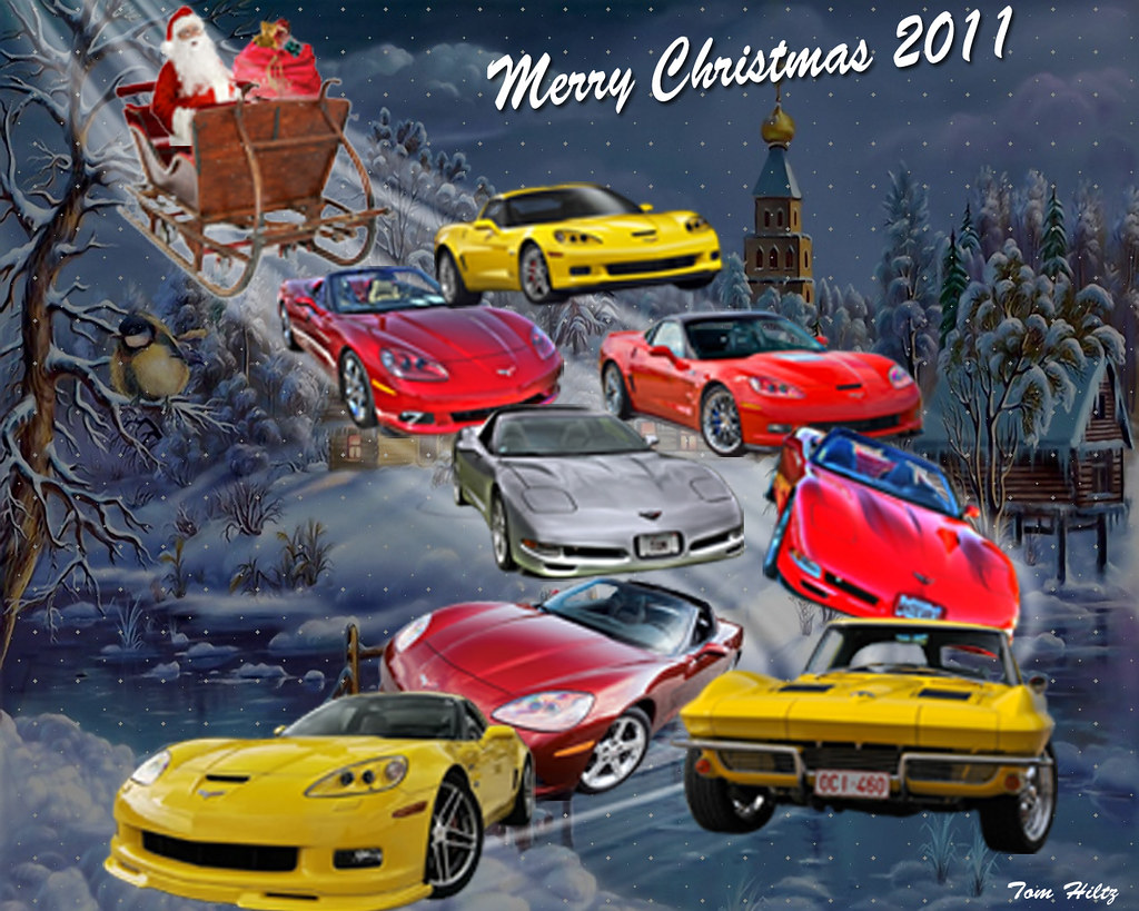 Corvette Christmas | Tom Hiltz | Flickr
