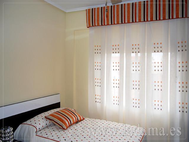 Decoraci n para dormitorios cl sicos cortinas con dobles - Decoracion con cortinas ...
