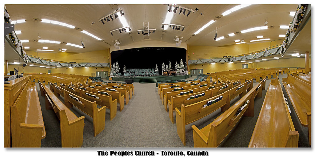 The Peoples Church Toronto 2011 Christmas Stage Jdb Sound Photography Flickr