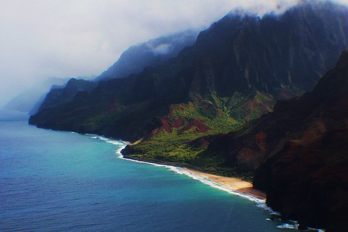 Na Pali coast helicopter shot | by coollessons2004