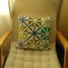 Asterisk cushion cover