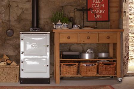 white wood burning cook stove esse heath ashli flickr. Black Bedroom Furniture Sets. Home Design Ideas