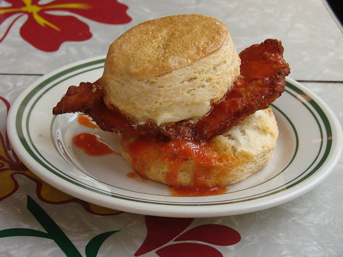 Chicken Biscuit from Pies 'n' Thighs | by nycblondieandbrownie