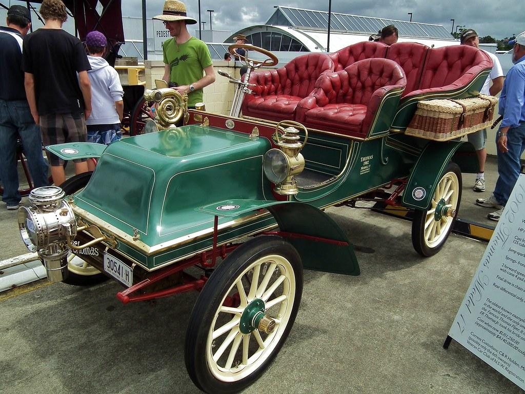 1902 thomas model 17 tonneau 1902 thomas model 17 tonneau flickr. Black Bedroom Furniture Sets. Home Design Ideas