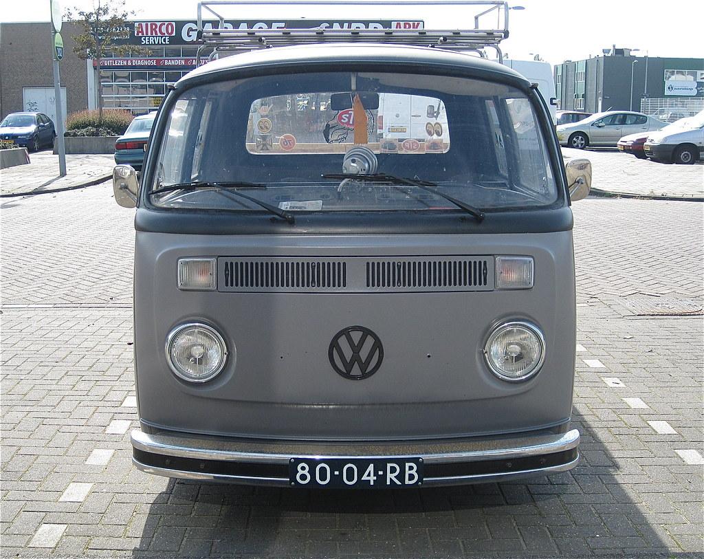 80 04 Rb Volkswagen Transporter T2 Pick Up Crew Cab 4 12
