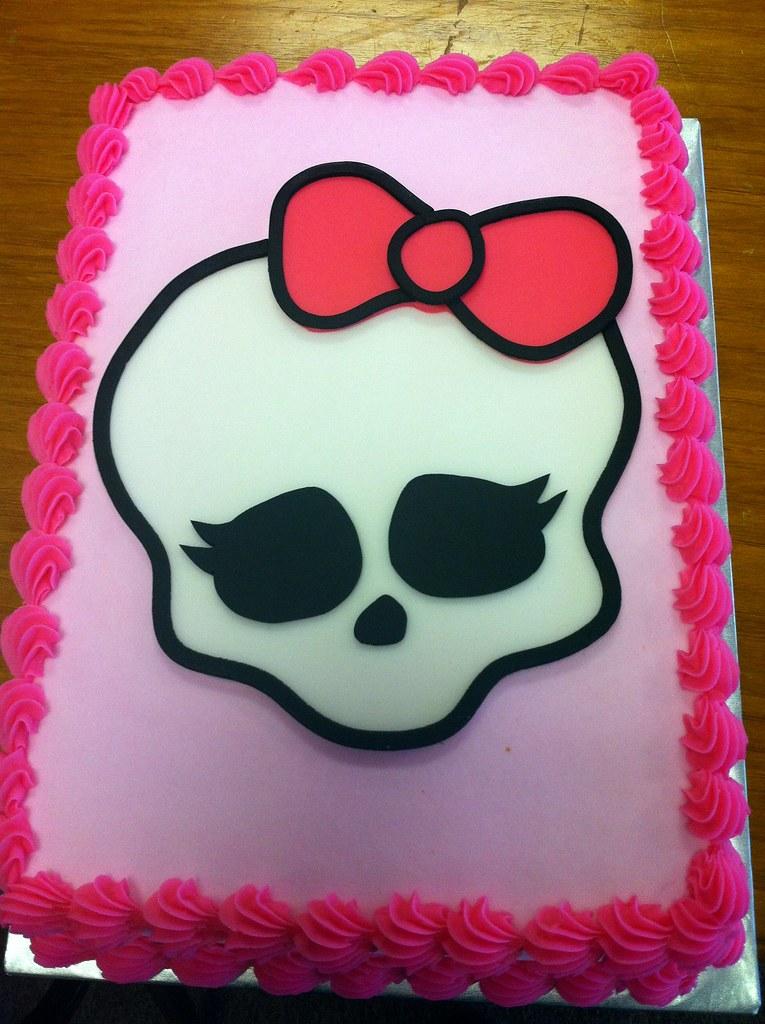 Monster High Cake Dpasteles Cake Shop Flickr