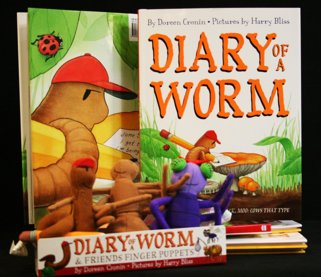 Diary Of A Worm: He Goes To School, He Fights With His