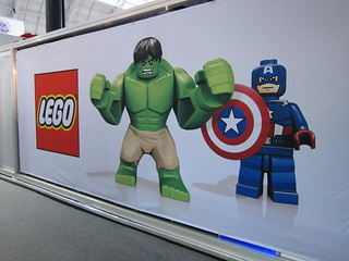 LEGO stand decoration at the London Toy Fair | by hmillington