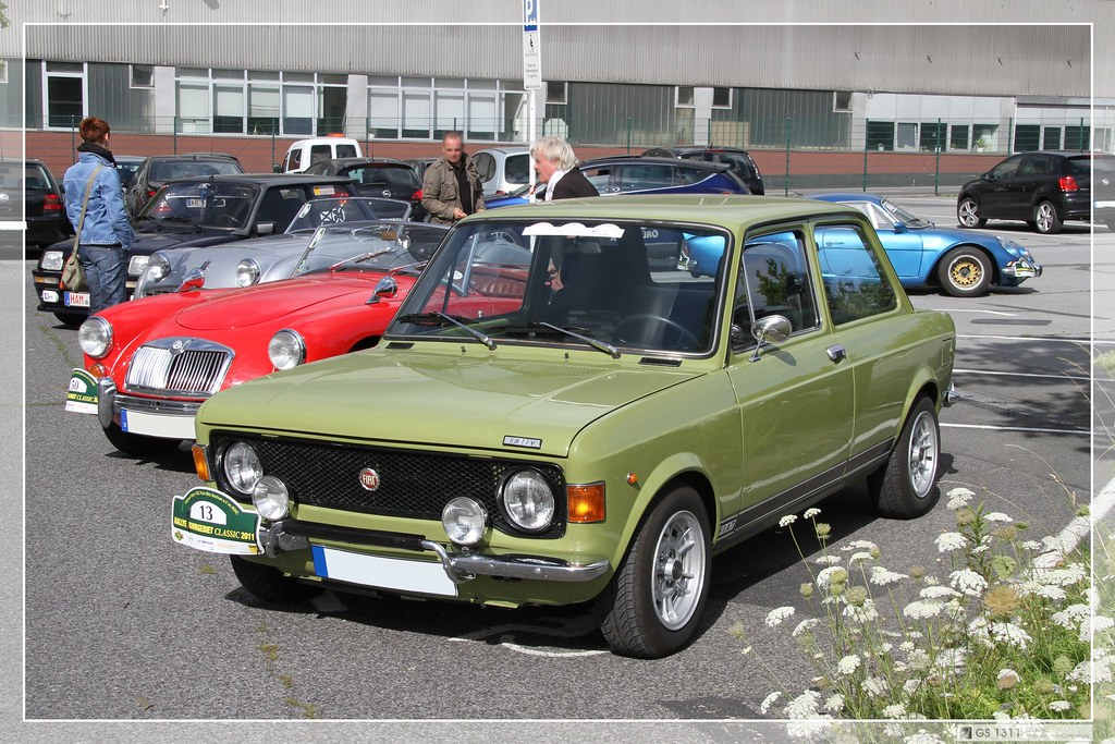 Shortened Cars >> 1971 - 1972 Fiat 128 Rally (01) | The Fiat 128 is a small fa… | Flickr