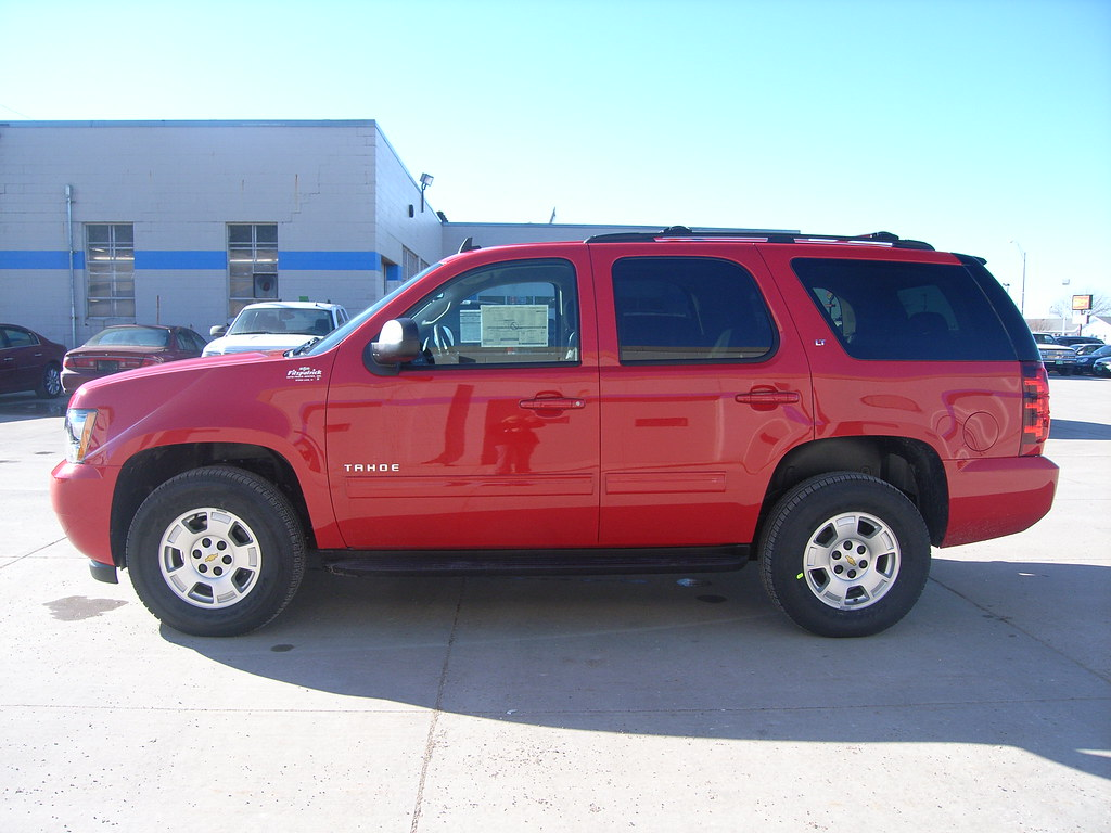 2012 chevy tahoe victory red 4x4 for sale at fitzpatrick a flickr. Black Bedroom Furniture Sets. Home Design Ideas