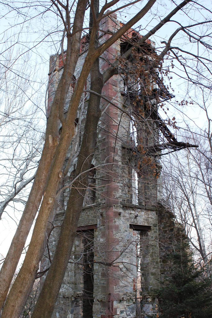 Tower Ruins, South Mountain, Berks County, PA | Ruins of a ...