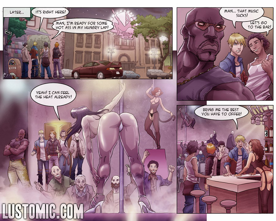 Комиксы членодевки