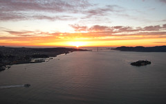 Golden Gate sunset (wide)