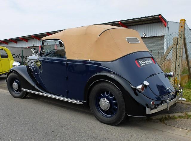 renault primaquatre 1936 cabriolet flickr photo sharing. Black Bedroom Furniture Sets. Home Design Ideas