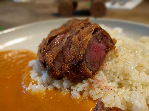 Beef Cutlet Curry and Rice