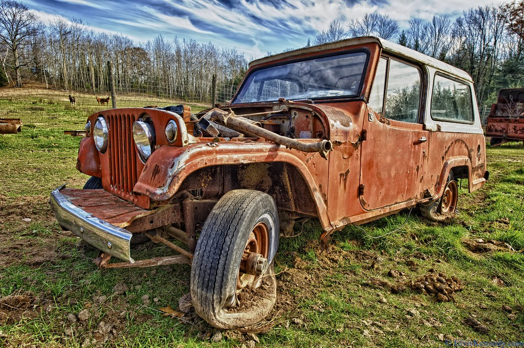 Old Jeep An Old Jeep Made By Kaiser Jeep Corporation Told Flickr