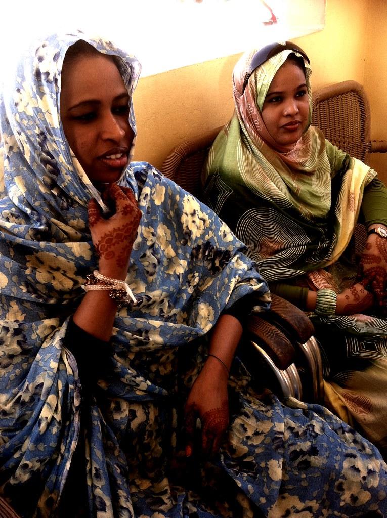 mauritania women  henna tattoos inchiri
