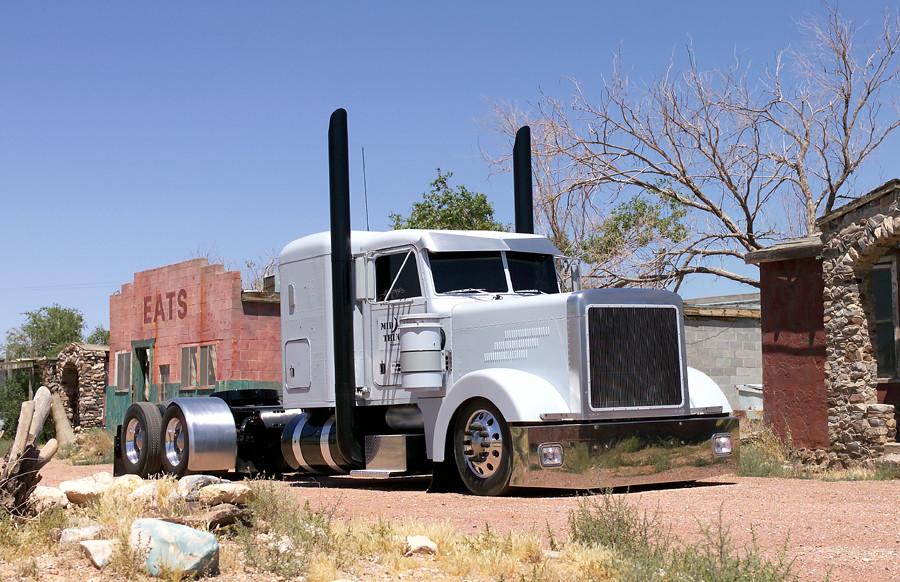 Chrome Stacks For Semi Trucks : Custom peterbilt raptor flickr