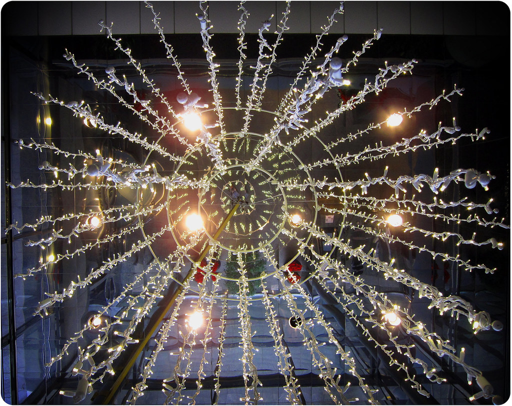 Christmas Lights Hanging From The Ceiling 12 15 11 Flickr