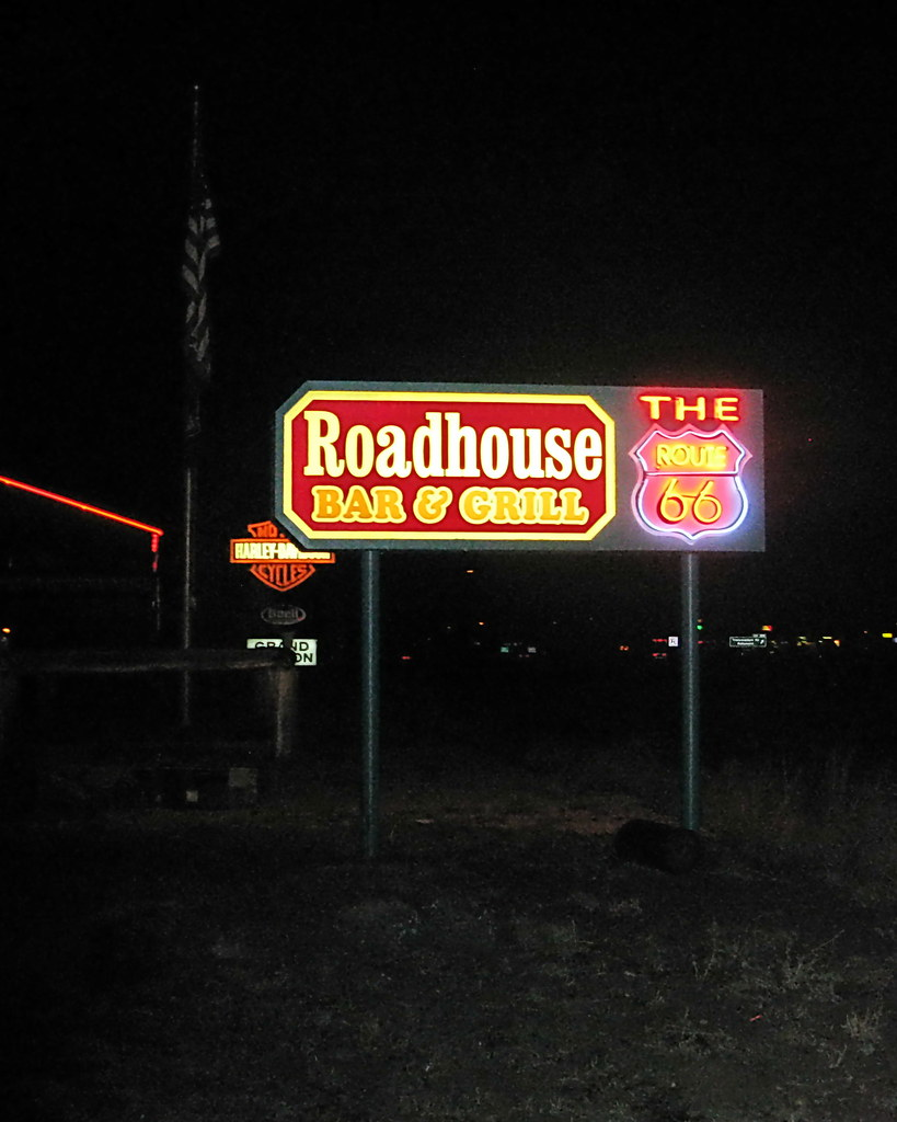 The Route 66 Roadhouse Bar Amp Grill Bellemont Az On The