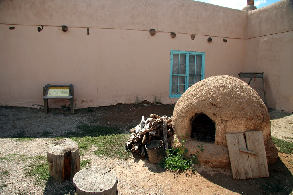 Kit Carson Home And Museum Taos New Mexico Mark