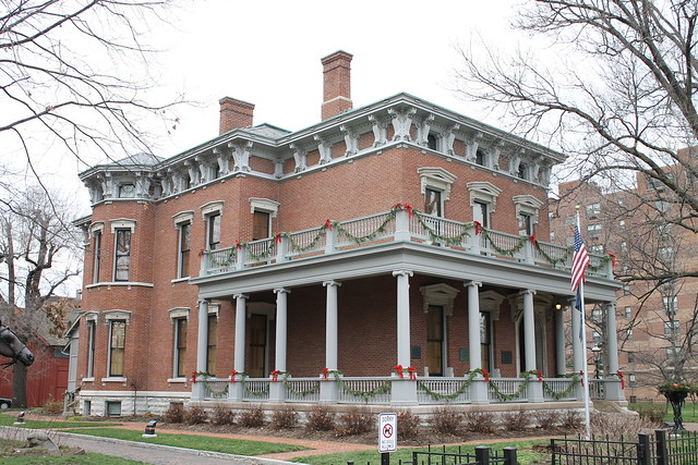 President Benjamin Harrison House   Flickr - Photo Sharing!  Benjamin Harrison House