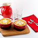 Baked Eggs with Homemade Sausage and Grits