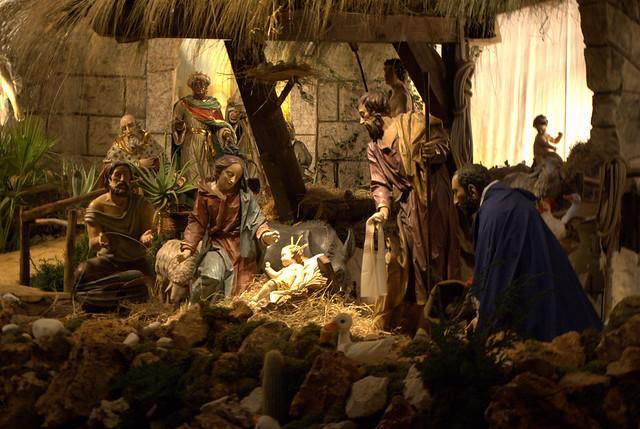 presepe basilica di san pietro nativity scene st peter