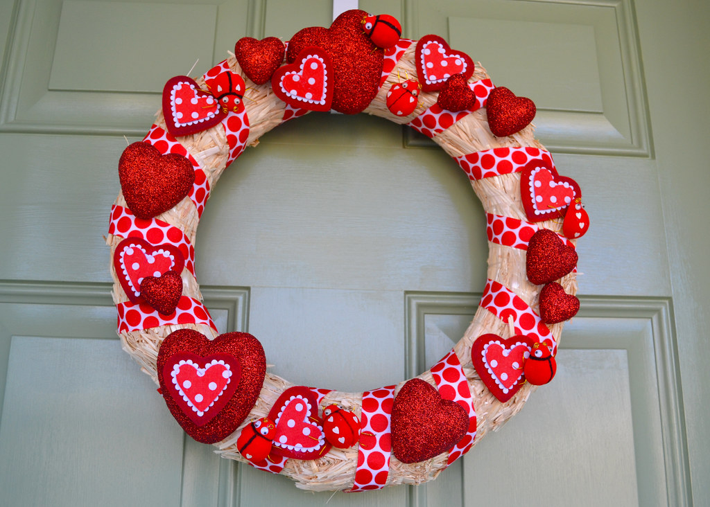 valentine wreath | amy_buthod | Flickr