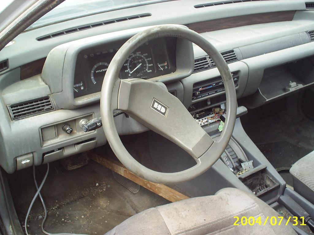 1986 Hyundai Stellar Dash Dave 7 Flickr