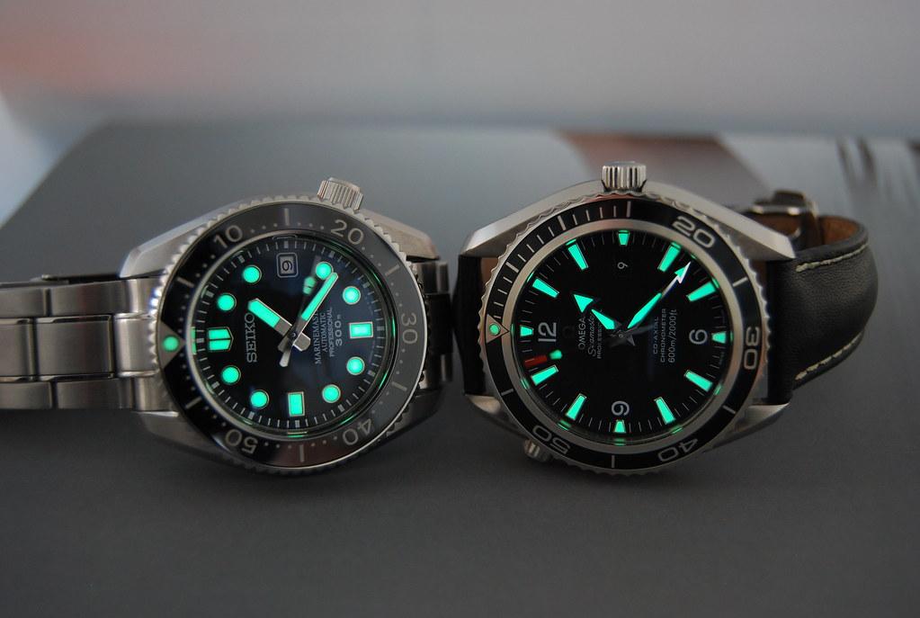 Omega seamaster planet ocean chronograph - 5 5