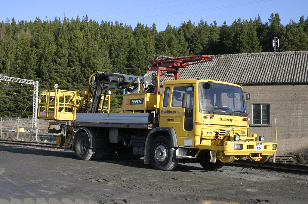 Road Rail Srs Volvo Fl6 Overhead Line Truck This