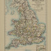 Map page of Section XXII England and Wales after the accession of the House of Tudor from Part XVII of Historical atlas of modern Europe from the decline of the Roman empire : comprising also maps of parts of Asia and of the New world connected with Europ