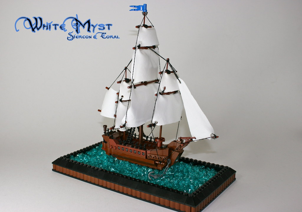 White Myst This Ship Is Tiny We Were Hoping The