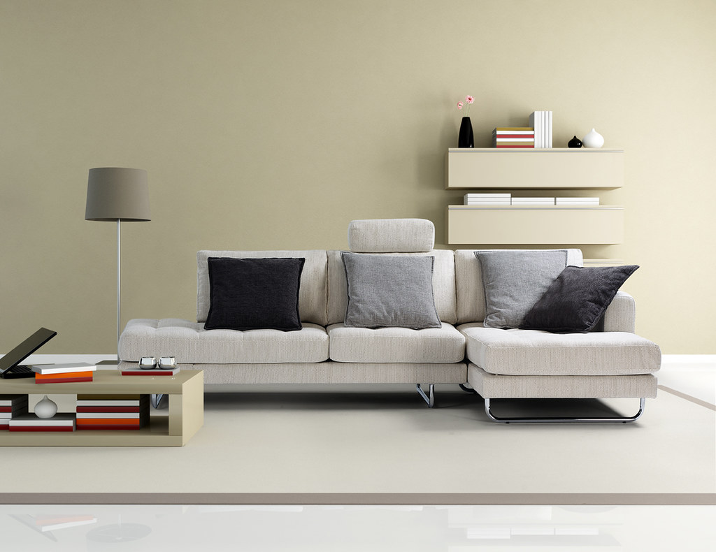 Modern Living Room Brown And Beige Modern Living Room Re  # Muebles Vall D'Uixo