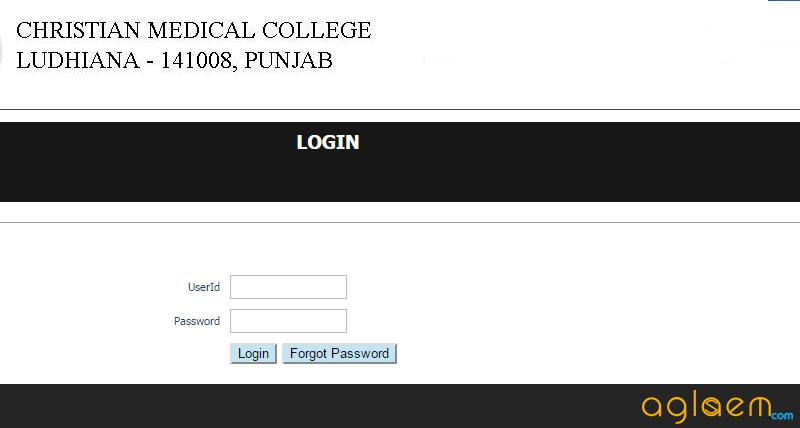 CMC Ludhiana MBBS Application Form