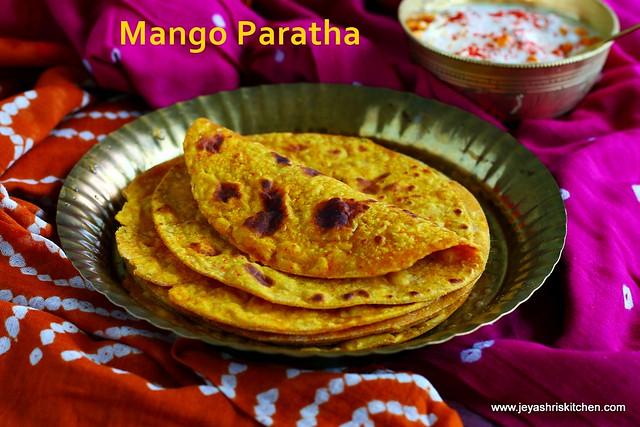 Mango paratha