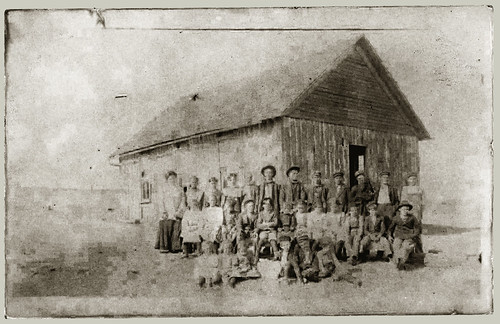RPPC Group - Probably a One Room School