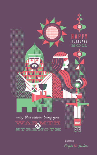 2011 Holiday Card by Javier Garcia | by Javier Garcia Design