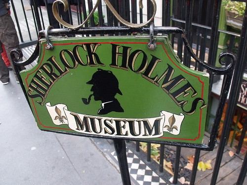 The Sherlock Holmes Museum - 221b Baker Street, London - sign | by ell brown