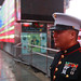 California Marine awarded for community service in Times Square ceremony prior to Afghan deployment [Image 1 of 3]