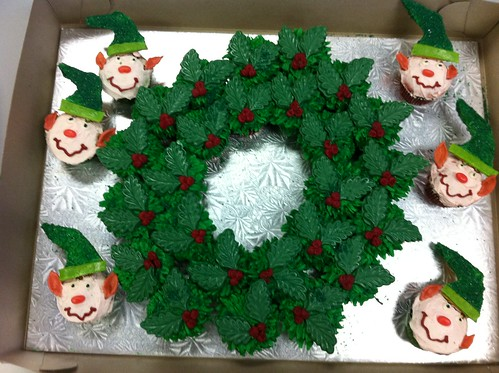 Cupcakes from Work. Christmas Bake Sale | by gopherit2