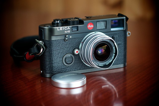 Leica M6 with 15mm Voigtlander Super Wide Heliar f/4.5
