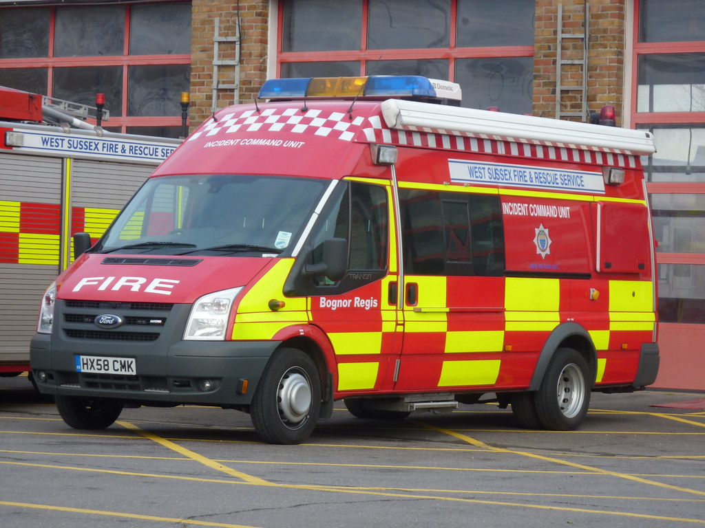 West Sussex Fire Amp Rescue Service Ford Transit Tdci Hx