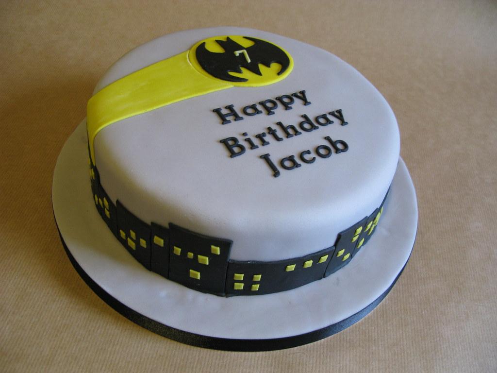 Lego Batman Gotham City Birthday Cake Blogged About On