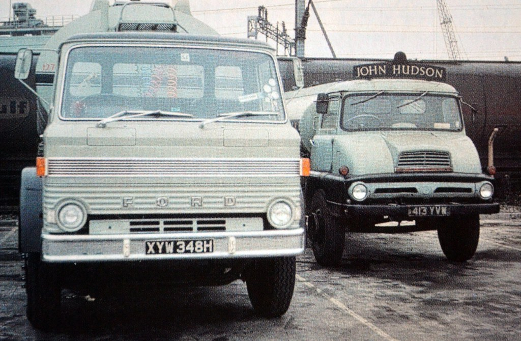 New Ford Truck >> 1970 Ford D Series & 1961 Ford Trader   Colin Pickett   Flickr