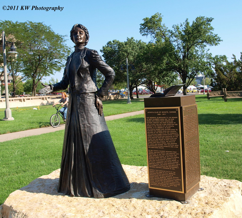"""Kansas >> Mary Elizabeth Lease 