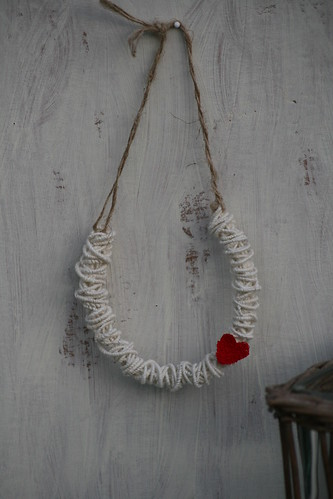 Linen Lucky Horseshoe | by made by maxine