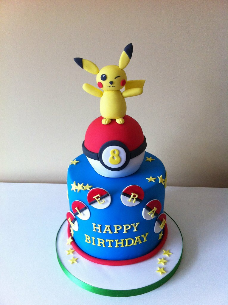 Pokemon Cake Ideas For Year Olds
