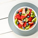 Strawberries, Kiwi, and Blueberries